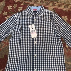 NWT Tommy Hilfiger long sleeve button up